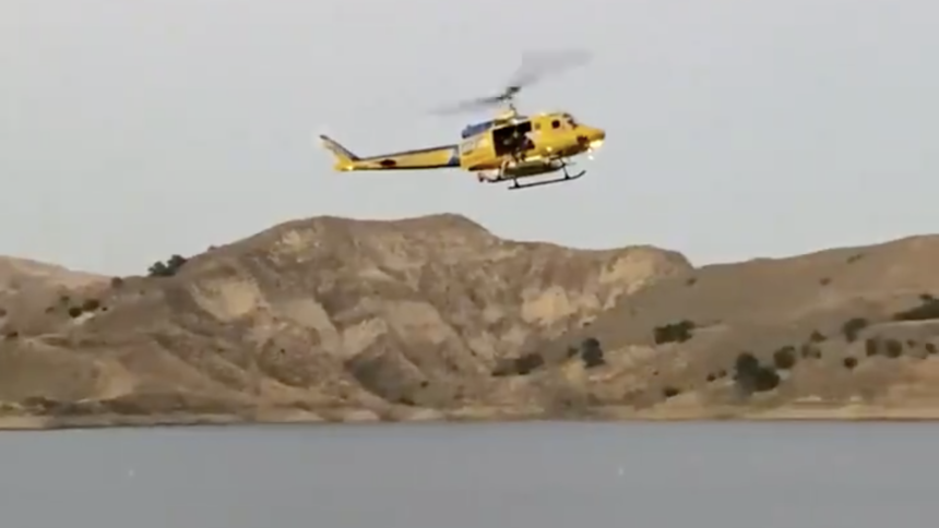 Ventura County Sheriff's Helicopter search for missing actress Naya Rivera