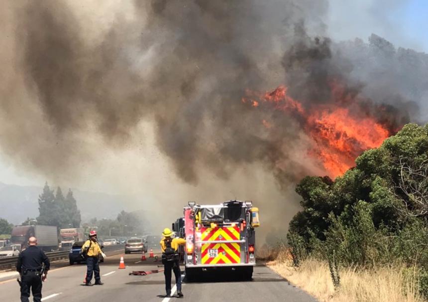 Goleta fires
