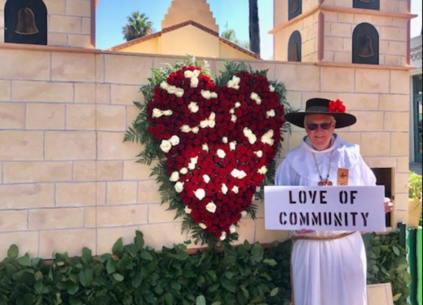 Father Larry Fiesta Grand Marshall