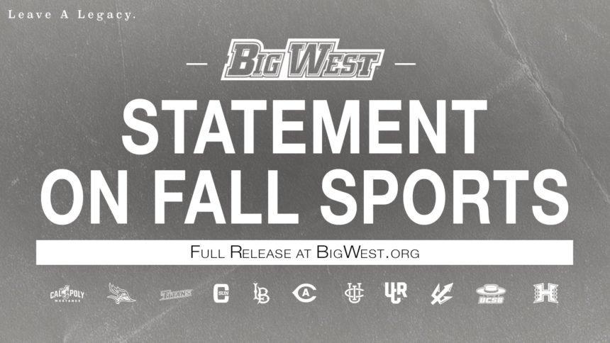 big west fall statement