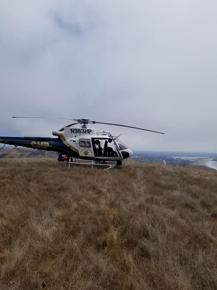 chp h-70 cayucos hang glider rescue 1