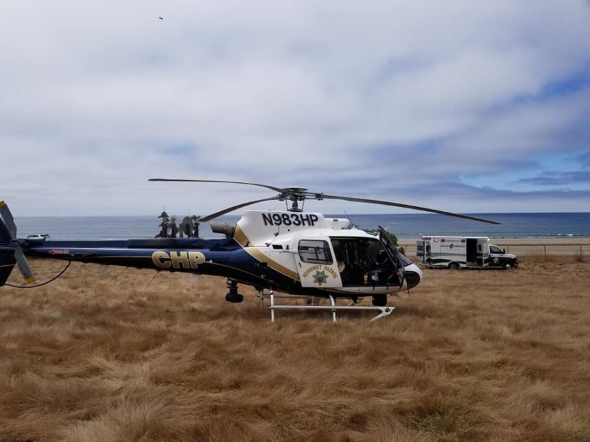 chp h-70 cayucos hang glider rescue 2