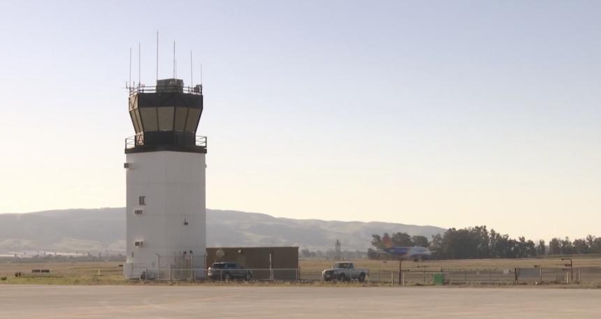 santa maria airport tower