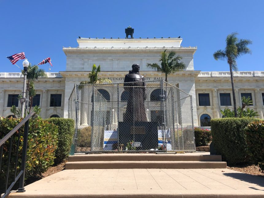 serra statue in vta