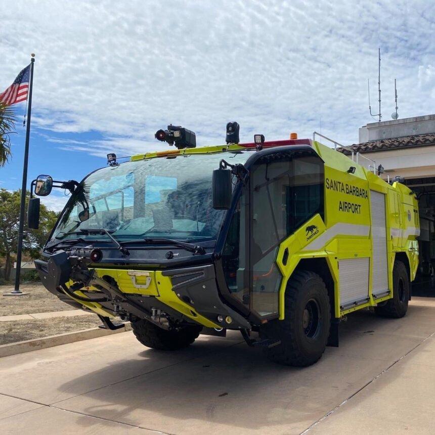 New truck SBA Fire