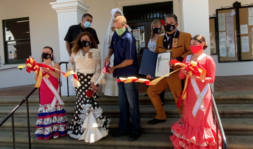 Fiesta ribbon cutting