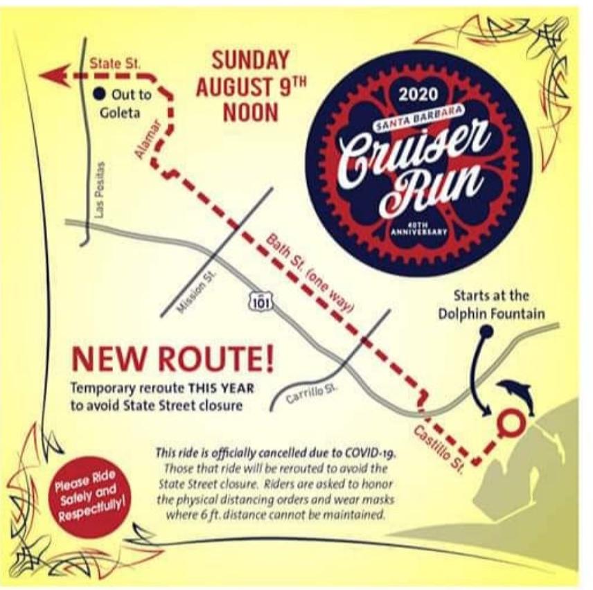 Cruiser run map