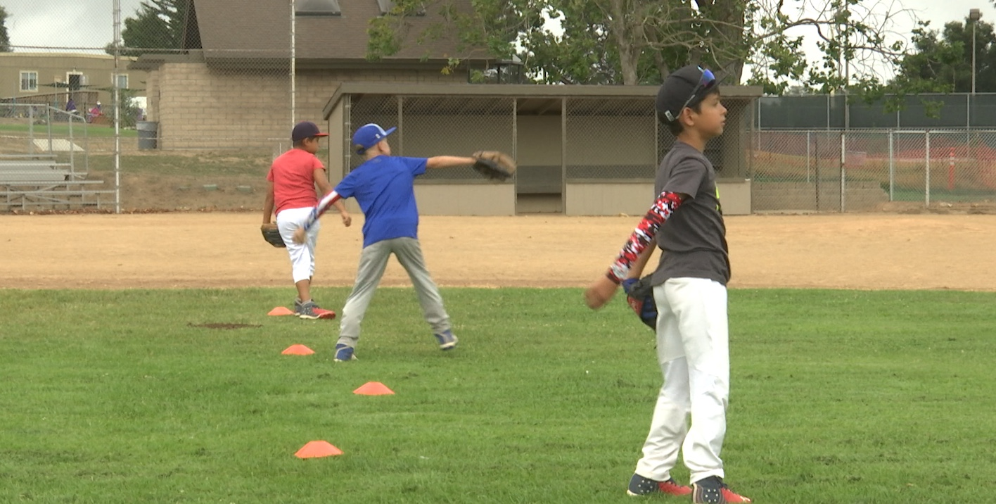 Central Coast Venom club baseball players take part in a practice in Nipomo on Thursday morning.