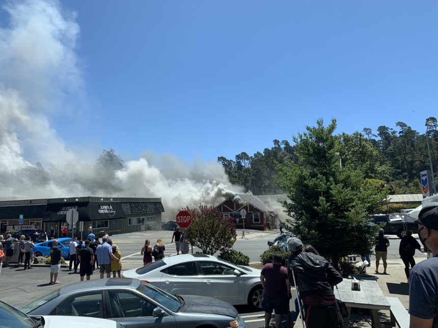 commercial fire cambria viewer pic