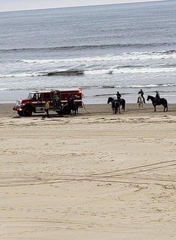 oceano dunes mini fire pic 2
