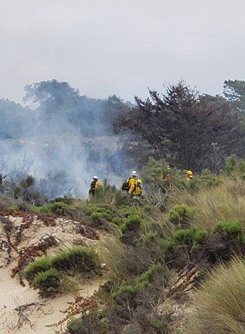 oceano dunes mini fire pic 3