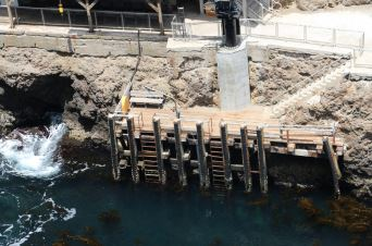 Anacapa Island Dock