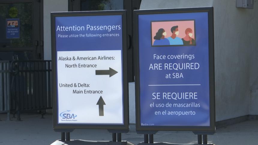 SBA masks required