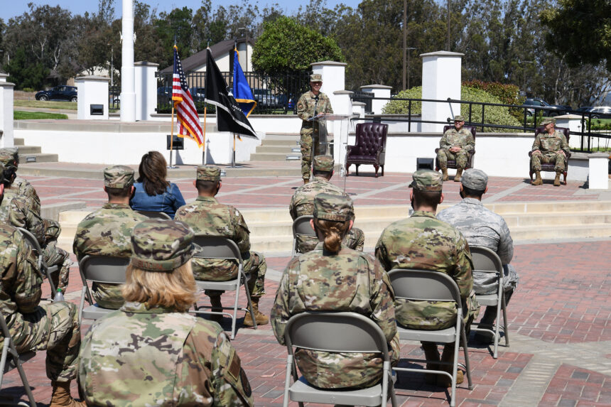 USSF Induction Ceremony at VAFB