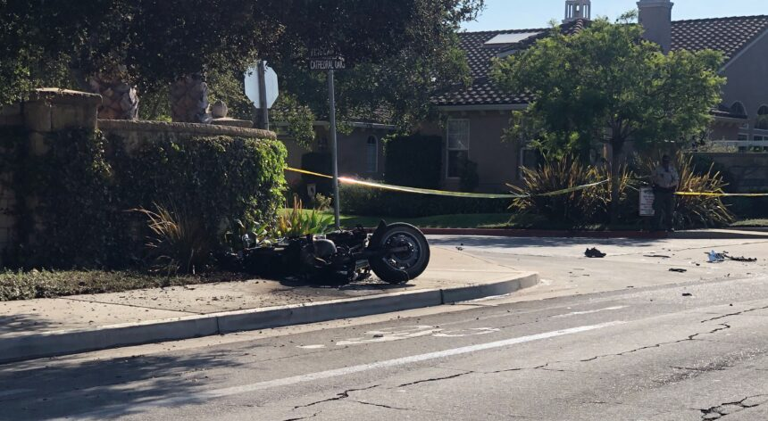 cathedral oaks motorcycle fatal