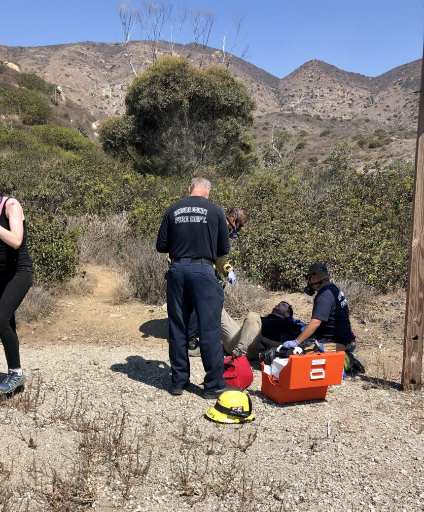 hiker not enough water rescue 2