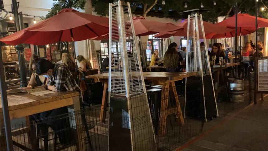 outdoor restaurant santa barbara
