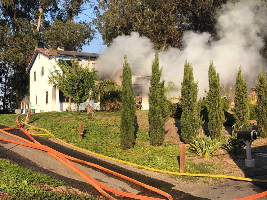 Arroyo Grande Structure Fire