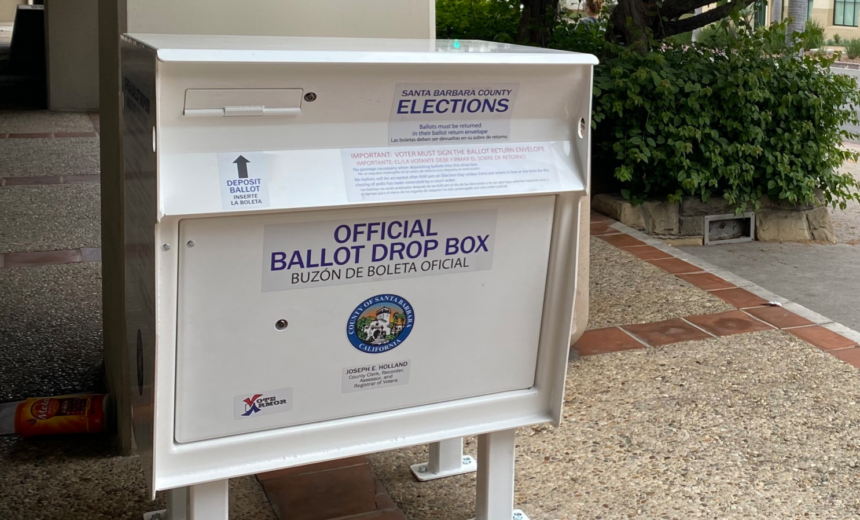Santa Barbara County Elections Drop Off Boxes