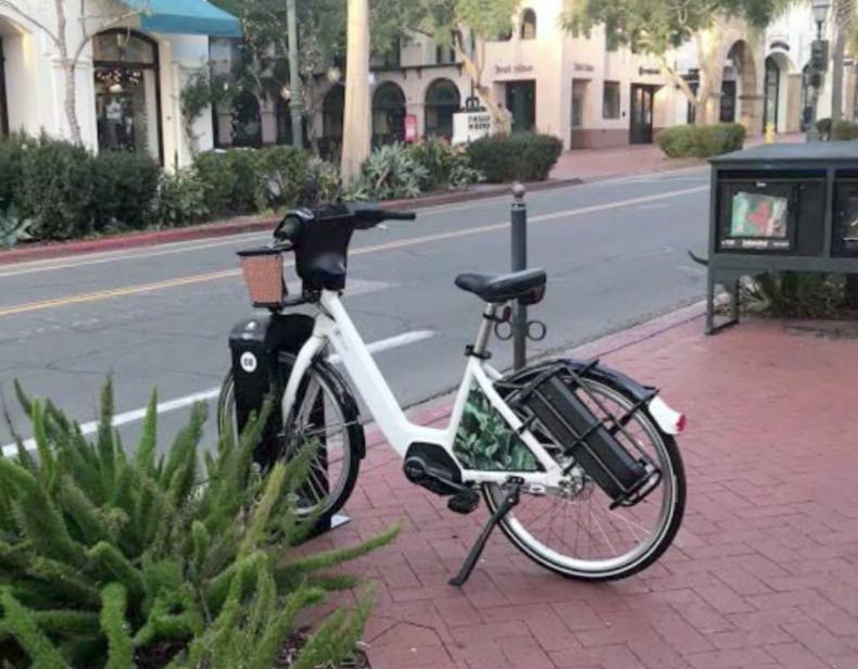Electric bike Santa Barbara plan