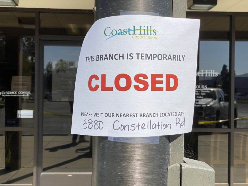 coast hills robbery