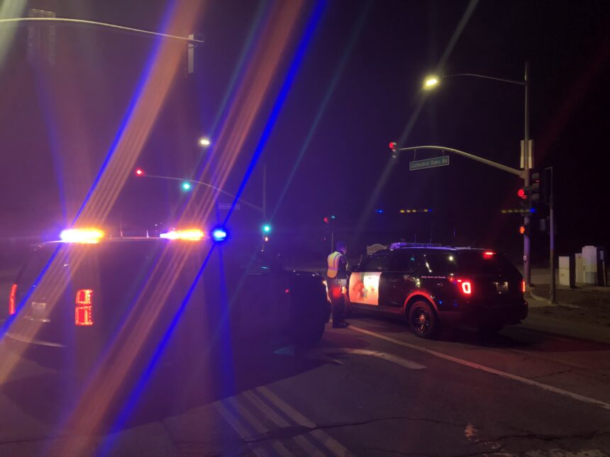 fatal traffic crash on Cathedral Oaks