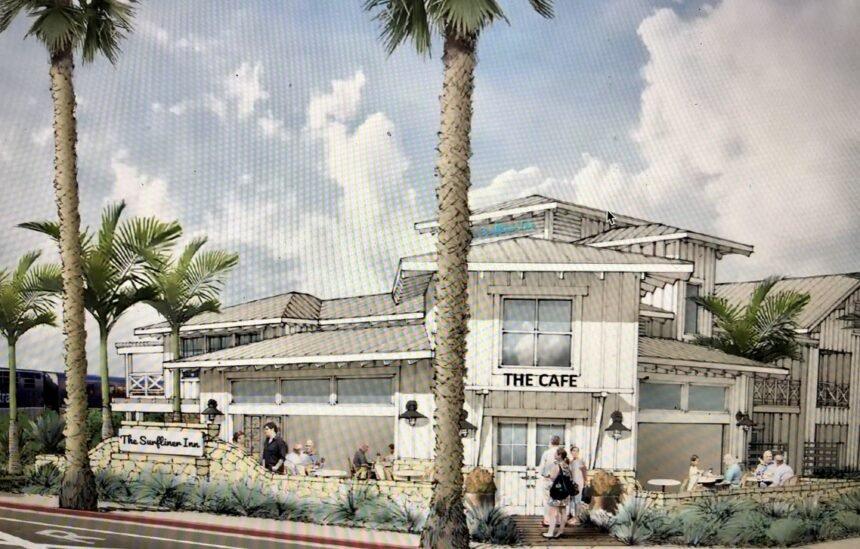Surfliner Inn rendering