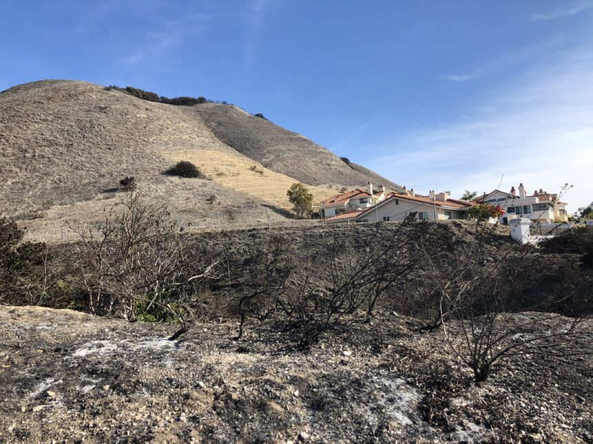 Avila Fire burn area