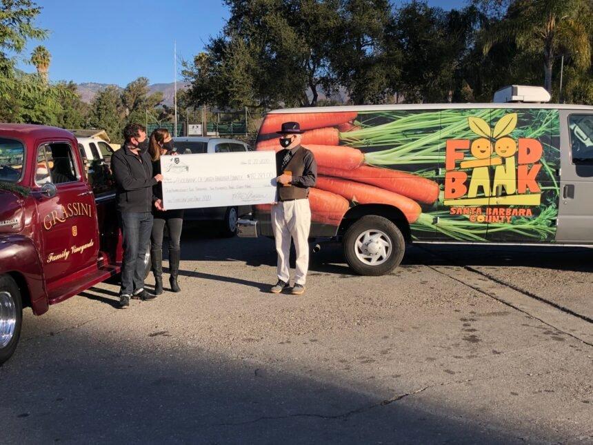 Grassini foodbank donation