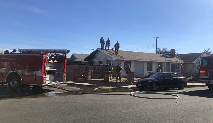 Oxnard Mobile Home Fire