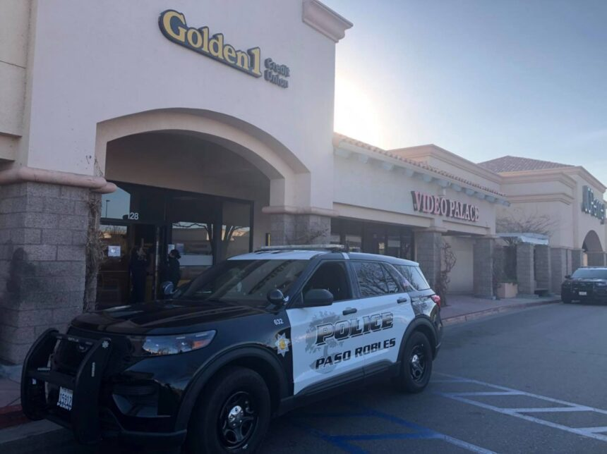 Paso Robles Credit Union Bank robbery