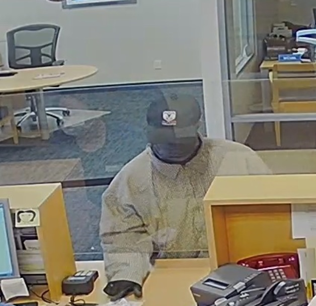 Paso Robles Bank Robbery Suspect