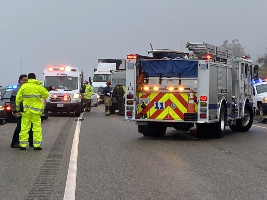 semi truck serious injury crash