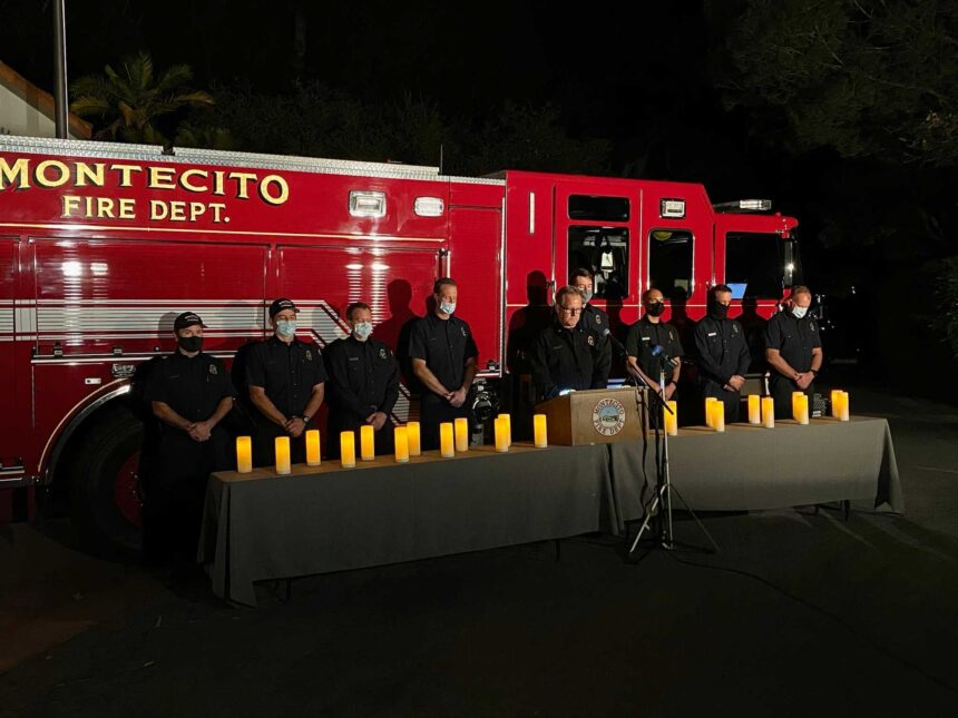 raising our lights montecito mudslide evening of remembrance