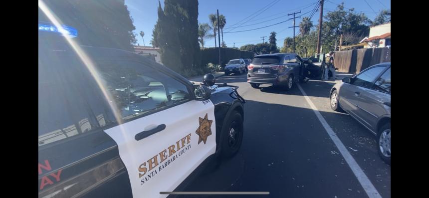 Sheriff's chase