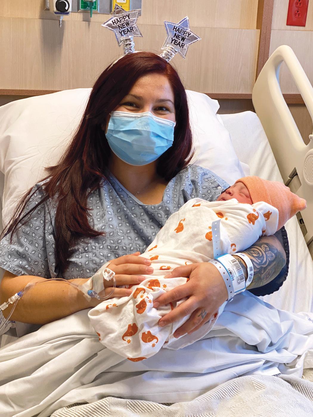 First baby born at St. John's Regional Medical Center in Oxnard