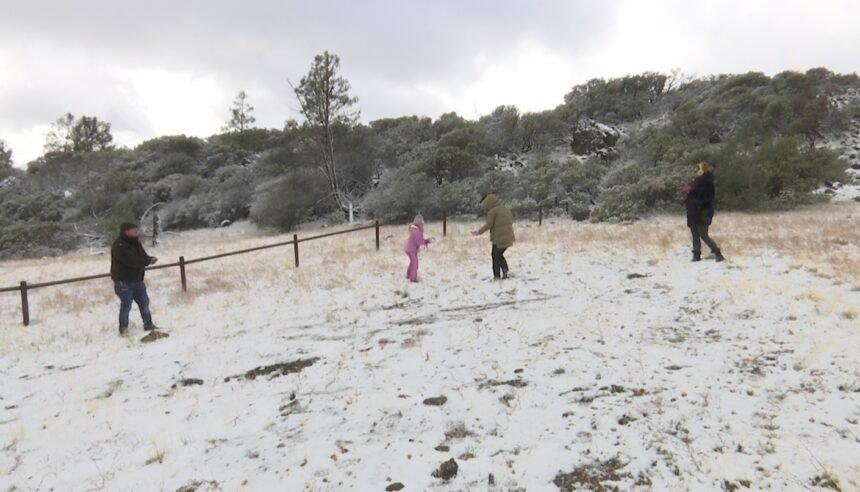 Figueroa Mountain snow