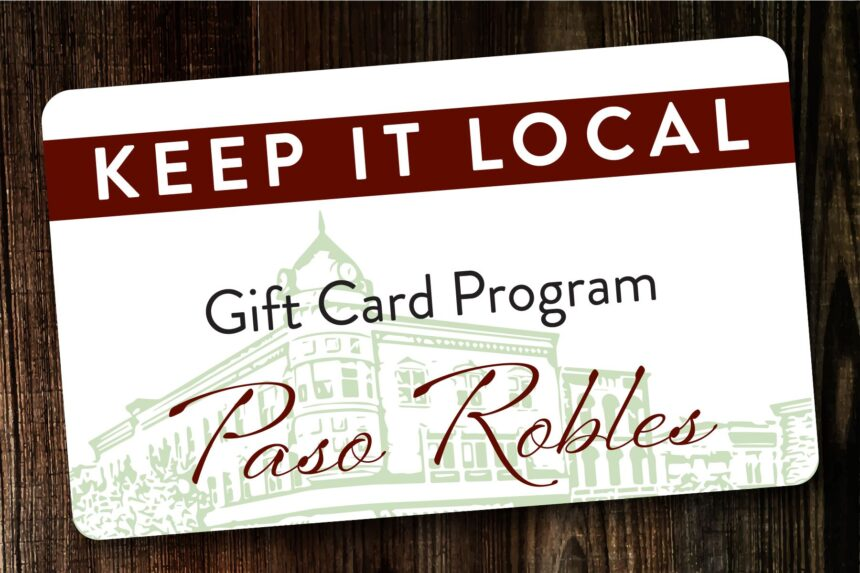 paso robles keep it local gift card program