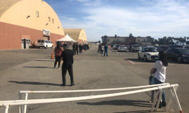 Ventura County Fairgrounds vaccine rollout