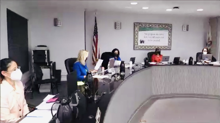 SB Unified in-person board meeting