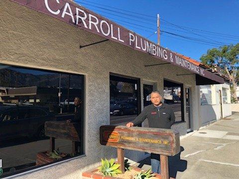 Jaime Maldonado, Head Plumber at Carroll Plumbing and Maintenance (Beth Farnsworth/KEYT)