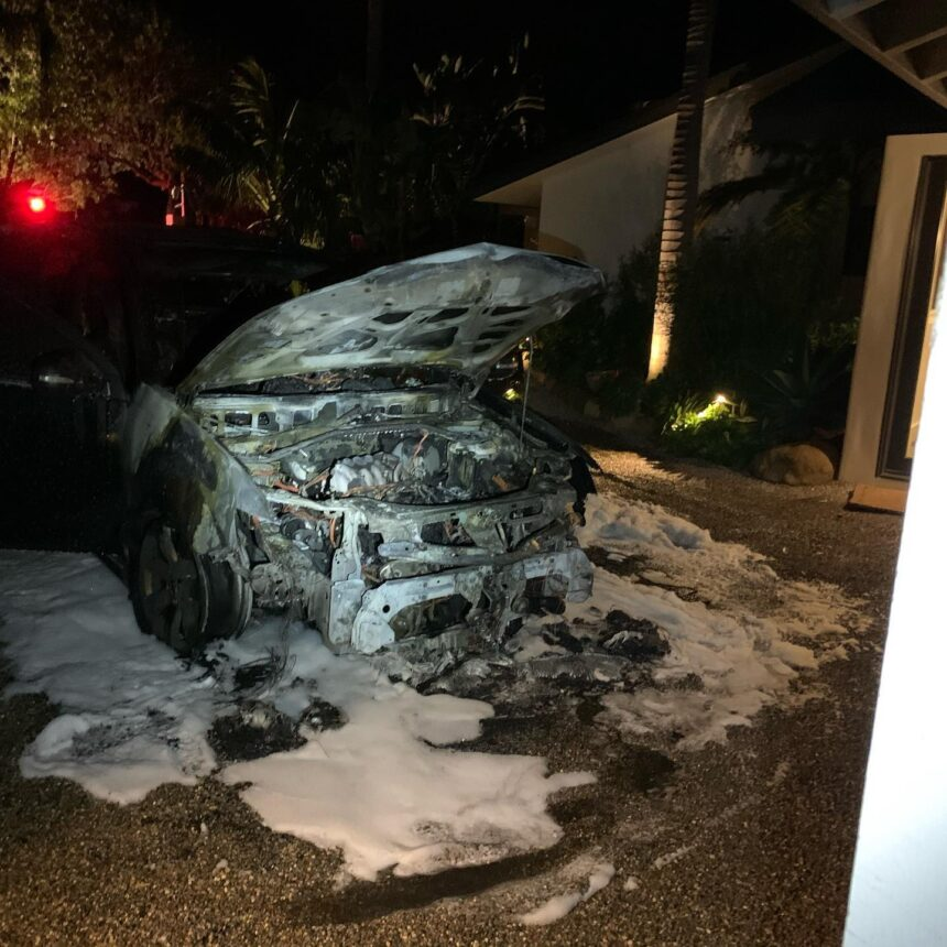 montecito car fire 021321 2