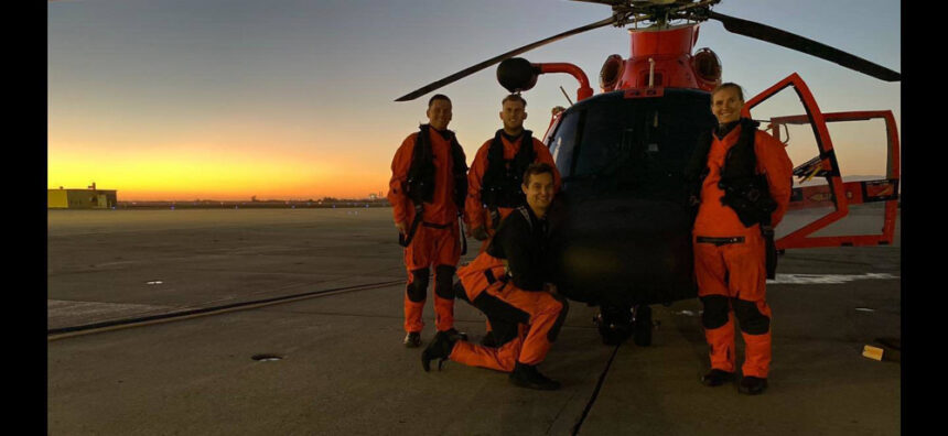 us coast guard rescues sailor off slo coast 1