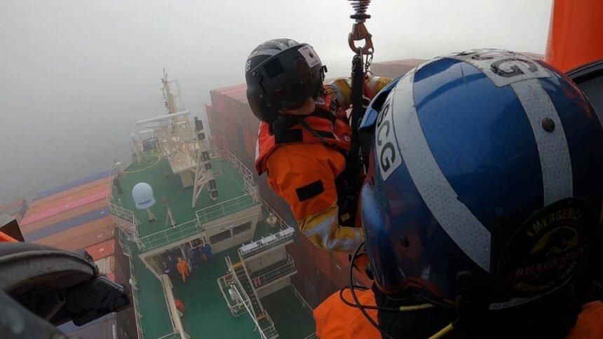 us coast guard rescues sailor off slo coast 2