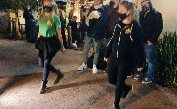 Firedance Irish dancers
