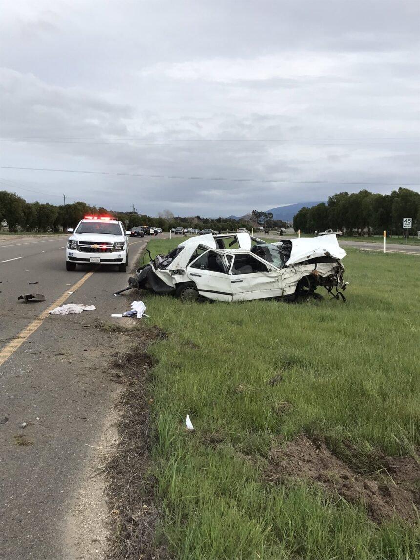 major injury buellton rollover crash 1