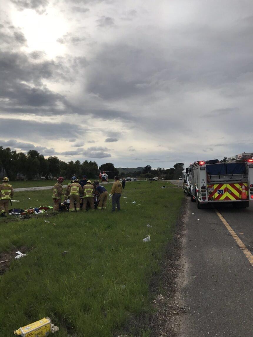 major injury buellton rollover crash 2