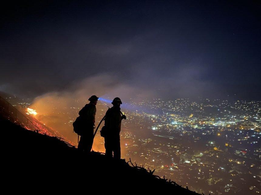 TV Hill Fire 8