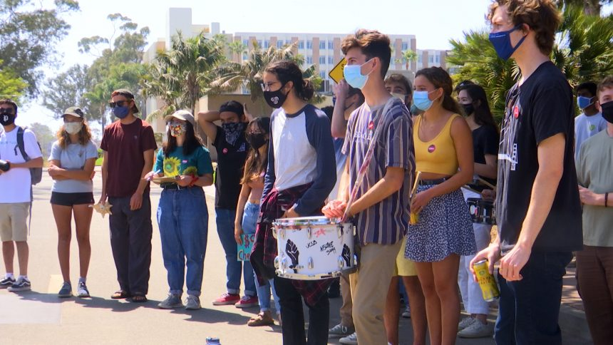 UCSB Protest