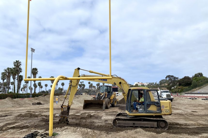 La Playa Stadium Construction